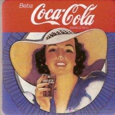 Coleccionismo de Coca-Cola y Pepsi: GRUESO POSAVASOS DE COCA-COLA. EN CARTÓN Y CORCHO.. Lote 10427445
