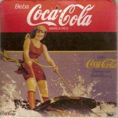 Coleccionismo de Coca-Cola y Pepsi: GRUESO POSAVASOS DE COCA-COLA. DE CARTÓN Y CORCHO.. Lote 6172202