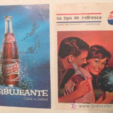 Coleccionismo de Coca-Cola y Pepsi: COLECCIÓN DE 9 ANUNCIOS ORIGINALES DE PEPSI COLA- DE REVISTAS DE AÑOS 1962,64, 65,66 Y 68- V I B. Lote 27360208