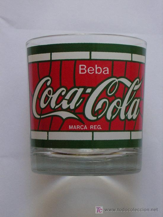 VASO COCA COLA (Coleccionismo - Botellas y Bebidas - Coca-Cola y Pepsi)