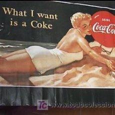 Coleccionismo de Coca-Cola y Pepsi: CARTEL COCA-COLA. Lote 12772043