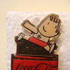 Coleccionismo de Coca-Cola y Pepsi: PIN DE COCA COLA. COBI. ATLETISMO. JUEGOS OLÍMPICOS BARCELONA 1992. . . Lote 19505302