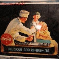 Coleccionismo de Coca-Cola y Pepsi: CARTEL COCA COLA . Lote 11871039