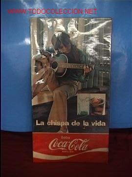 CARTEL COCA-COLA (Coleccionismo - Botellas y Bebidas - Coca-Cola y Pepsi)