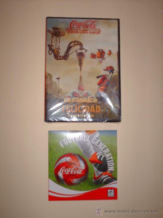 COCA -COLA DVD Y CD (Coleccionismo - Botellas y Bebidas - Coca-Cola y Pepsi)