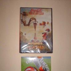 Coleccionismo de Coca-Cola y Pepsi: COCA -COLA DVD Y CD. Lote 26292138