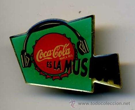 BONITO PIN DE COCA COLA MAS PINS Y MUCHO MAS EN MIS ARTICULOS ENTRA Y HECHALES UN VISTAZO (Coleccionismo - Botellas y Bebidas - Coca-Cola y Pepsi)