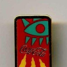 Coleccionismo de Coca-Cola y Pepsi: BONITO PIN DE COCACOLA MAS PINS Y MUCHO MAS EN MIS ARTICULOS ENTRA Y HECHALES UN VISTAZO. Lote 11010363