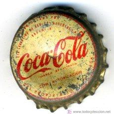 Colecionismo de Coca-Cola e Pepsi: CHAPA COCA COLA VALENCIA , CON TAPON DE CORCHO, C78 , MEJOR QUE EN LA FOTO.. Lote 27097014