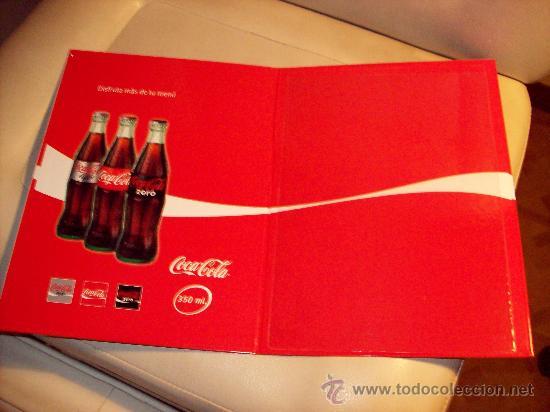 Coleccionismo de Coca-Cola y Pepsi: Carpeta porta menús Coca Cola. Coca-cola - Foto 2 - 22224443
