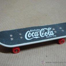 Coleccionismo de Coca-Cola y Pepsi: MONOPATIN MINIATURA PUBLICIDAD DE COCA COLA COCACOLA COKE. Lote 19572322