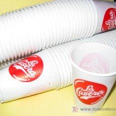 Coleccionismo de Coca-Cola y Pepsi: LOTE DE 50 VASOS DE LA CASERA NUEVOS, DE PLÁSTICO. Lote 26536006