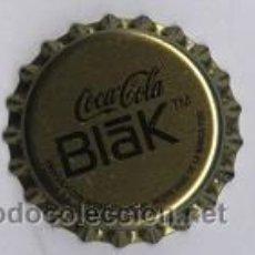 Coleccionismo de Coca-Cola y Pepsi: CHAPA COCA-COLA BLAK MUY RARA, MUY POCAS ENCIRCULACION. Lote 27368550