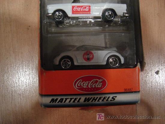 Coleccionismo de Coca-Cola y Pepsi: 5 COCHES DE COCACOLA EN CAJA MARCA MATCHBOX - Foto 2 - 15848572