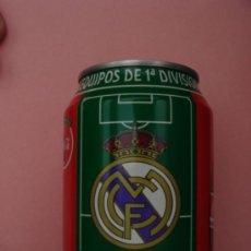 Coleccionismo de Coca-Cola y Pepsi: LATA COCA-COLA - REAL MADRID. Lote 15920543