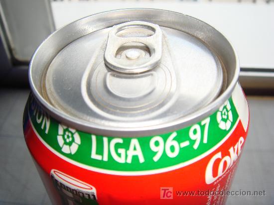 Coleccionismo de Coca-Cola y Pepsi: Lata Coca-Cola - Real Madrid - Foto 2 - 15920543