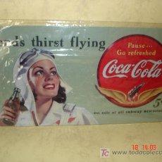 Coleccionismo de Coca-Cola y Pepsi: COCA COLA - CHAPA METALICA - REPRODUCCION -. Lote 15977667