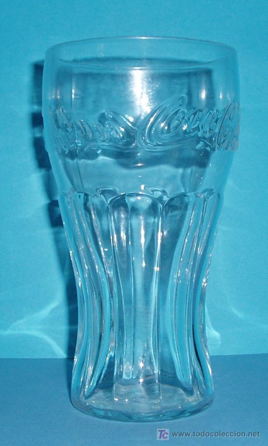 VASO COCA-COLA. ALTURA 15,5 CM (Coleccionismo - Botellas y Bebidas - Coca-Cola y Pepsi)