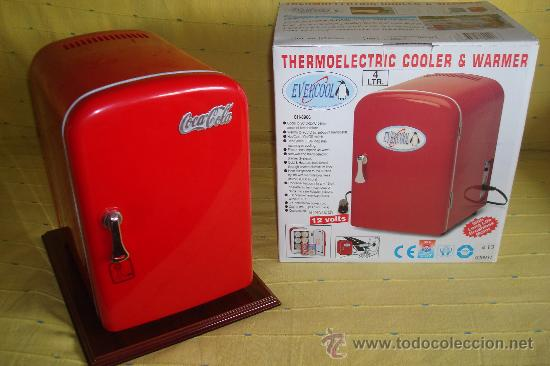 Mini nevera de coca cola comprar coleccionismo de coca for Neveras pequenas oficina