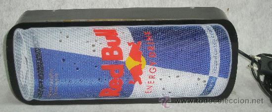 Coleccionismo de Coca-Cola y Pepsi: ROTULO LUMINOSO - LETRERO RED BULL ENERGY DRINK - PERFECTO FUNCIONAMIENTO. ver fotos - Foto 2 - 27381509