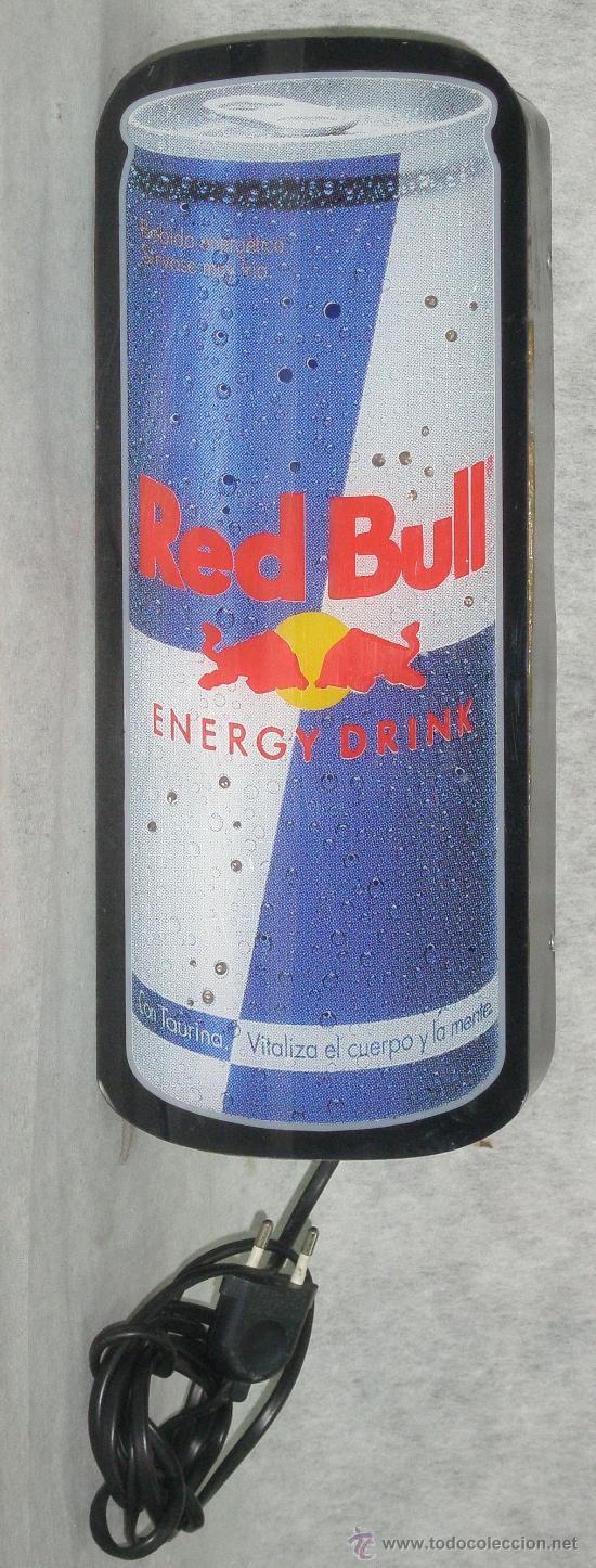 Coleccionismo de Coca-Cola y Pepsi: ROTULO LUMINOSO - LETRERO RED BULL ENERGY DRINK - PERFECTO FUNCIONAMIENTO. ver fotos - Foto 3 - 27381509
