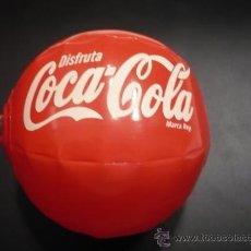 Coleccionismo de Coca-Cola y Pepsi: BALON COCA COLA. COCACOLA. HINCHABLE. ORIGINAL. 8 CMS DIAMETRO.. Lote 26523838