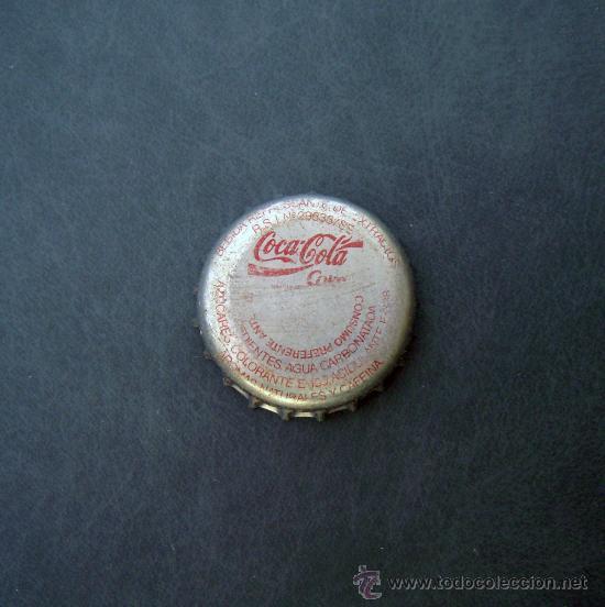Antigua chapa de coca cola de espa a a os 80 comprar - Chapa coca cola pared ...