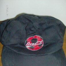 Coleccionismo de Coca-Cola y Pepsi: GORRA PROMOCIÓN COCA-COLA. Lote 121062464
