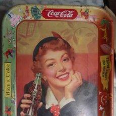 Coleccionismo de Coca-Cola y Pepsi: CHAPA ORIGINAL DE COCA COLA, AÑOS 40-50 , TIPO BANDEJA, PROCEDE DE CUBA, VER FOTOS, RB. Lote 24872756