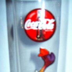 Coleccionismo de Coca-Cola y Pepsi: VASO DE TUBO ORIGINAL ** COCA-COLA ** EL PORTERO. Lote 26210300
