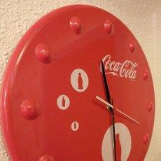 Coleccionismo de Coca-Cola y Pepsi: RELOJ DE PARED COCA-COLA METALICO . Lote 19969887