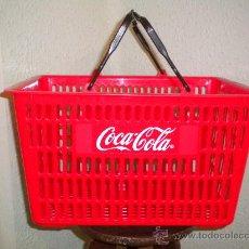 Coleccionismo de Coca-Cola y Pepsi: CESTA DE COCA COLA. Lote 26967631