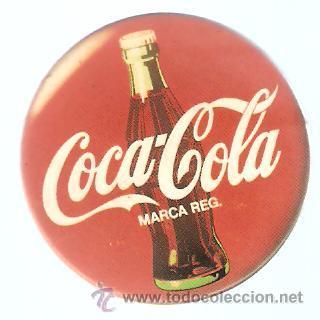 Chapa coca cola diametro 4 cms comprar coleccionismo de - Chapa coca cola pared ...