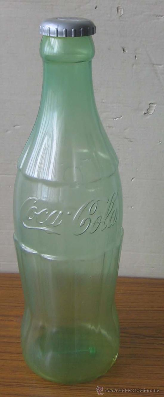 BOTELLA COCA COLA DE PLÁSTICO .. GRAN TAMAÑO 60 X 16 CM. (Coleccionismo - Botellas y Bebidas - Coca-Cola y Pepsi)