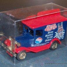Coleccionismo de Coca-Cola y Pepsi: FORD A PEPSI-COLA - GOLDEN WHEEL 1/50. Lote 26874194
