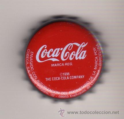 TAPON CORONA DE LA CASA COCA-COLA (Coleccionismo - Botellas y Bebidas - Coca-Cola y Pepsi)