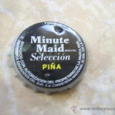Coleccionismo de Coca-Cola y Pepsi: 1 CHAPA MINUTE MAID PIÑA. SEVILLA. FABR. CHAPA U.-------LOTE N. 841--------. Lote 23053363
