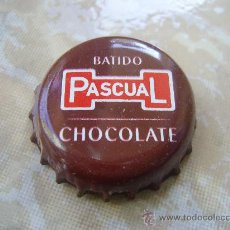 Coleccionismo de Coca-Cola y Pepsi: 1 CHAPA BATIDO PASCUAL CHOCOLATE. FAB. CHAPA: ZAPATA.-----LOTE N. 845----------- . Lote 23053466