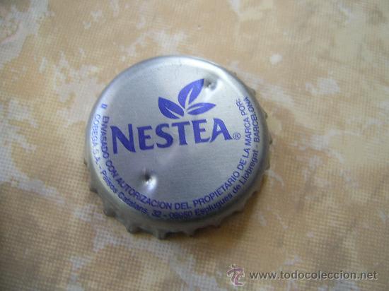 1 CHAPA NESTEA BARCELONA. FABR. CHAPA: U.--------LOTE N. 849----------- (Coleccionismo - Botellas y Bebidas - Coca-Cola y Pepsi)