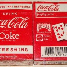 Coleccionismo de Coca-Cola y Pepsi: BARAJA DE CARTAS DE PÓKER. MINI BICYCLE. COCA COLA - COKE. ESTADOS UNIDOS. 2010. . Lote 23817571