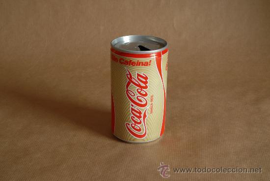 LATA DE COCA-COLA SIN CAFEINA. (Coleccionismo - Botellas y Bebidas - Coca-Cola y Pepsi)