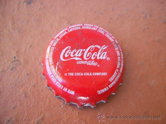 1 CHAPA COCA COLA DE SRI LANKA.-3- . DESCATALOGADA -------LOTE N. 950------------- (Coleccionismo - Botellas y Bebidas - Coca-Cola y Pepsi)