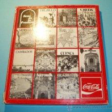 Coleccionismo de Coca-Cola y Pepsi: PATRIMONIO ARTÍSTICO I. EDITADO POR LOS CONCESIONARIOS ESPAÑOLES DE COCA-COLA. Lote 26810379