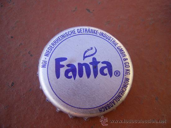 1 ANTIGUA CHAPA FANTA. FAB. CHAPA: ZAPATA. ALEMANIA.------LOTE N. 1055-------------- (Coleccionismo - Botellas y Bebidas - Coca-Cola y Pepsi)