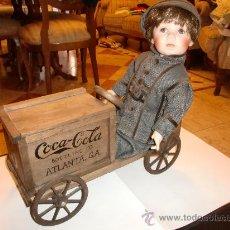 Coleccionismo de Coca-Cola y Pepsi: COCA COLA- KIRBY MUÑECO DE PORCELANA-FOTOS ADICIONALES. Lote 26751818