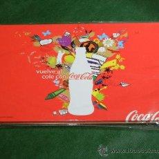 Coleccionismo de Coca-Cola y Pepsi: CAJA LAPICES DE COLORES COCA-COLA -36 LÁPICES - A ESTRENAR. Lote 27280583