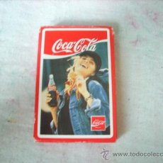 Coleccionismo de Coca-Cola y Pepsi: BARAJA DE CARTAS ESPAÑOLAS FOURNIER COCA COLA NUEVA. Lote 27617255