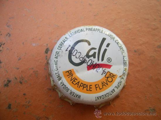 Coleccionismo de Coca-Cola y Pepsi: 1 CHAPA REFRESCO CALI PIÑA. FILIPINAS.----LOTE N. 1267----- - Foto 2 - 27769258
