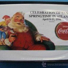 Coleccionismo de Coca-Cola y Pepsi: BARAJA DE CARTAS DE COCA COLA. 1998 - 002. PAPA NOEL Y DUENDE. ATLANTA TCCCC. . Lote 27930675