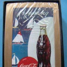Coleccionismo de Coca-Cola y Pepsi: BARAJA DE CARTAS DE COCA COLA. 1998 - 003. BOTELLA COCACOLA Y VELEROS. MINNEAPOLIS TCCCC. . Lote 27930682
